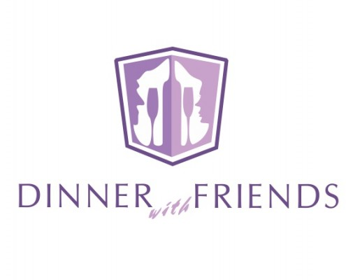 Portland Logo Design - Dinner friends