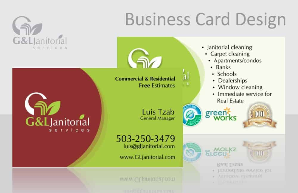 Commercial cleaning service business cards best business for Business cards for cleaning services